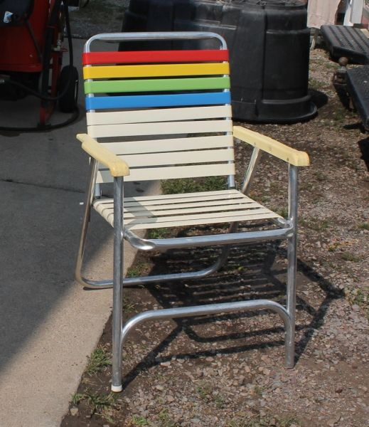 Rainbow Folding Chair