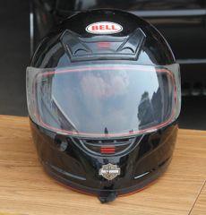 Bell Full Face Helmet w/ Harley Davidson Decals=Medium ( Black )
