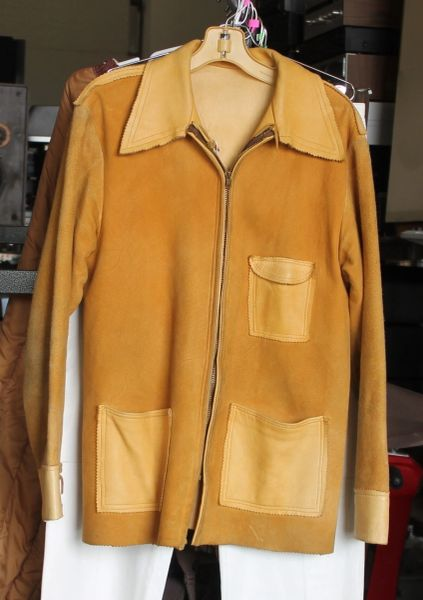 Handmade Buckskin Jacket-Medium