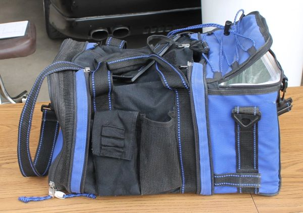 California Innovations Small Blue Gym / Work Bag