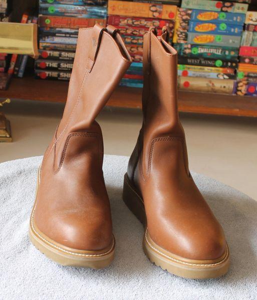 Herman SurvivorSeminole Brown Leather Work Boot-13