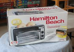 Hamilton Beach Toastation Toaster Oven #22708