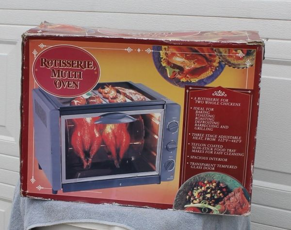 Rotisserie Multi Oven-LIKE NEW