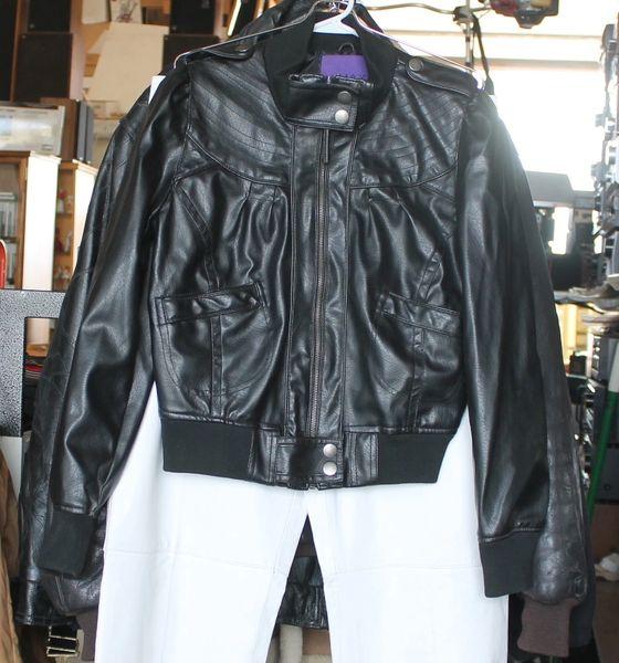 Miley Cyrus Max Azria Black Jacket - Size XS