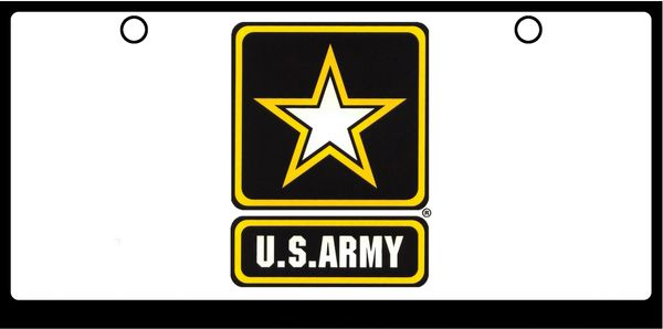 US Army Logo, Color on White