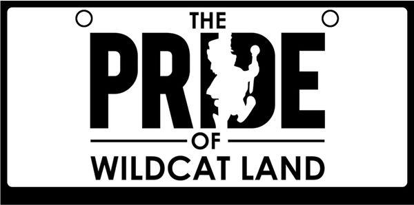 KSU BAND Pride of Wildcat Land Black on White