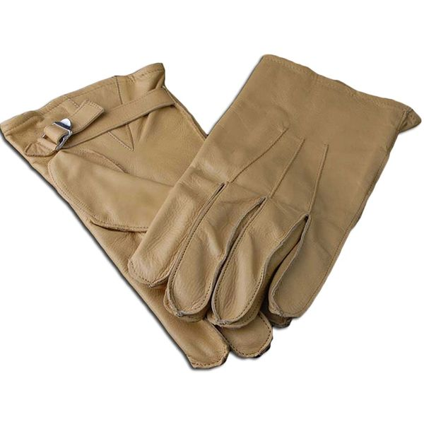 WW2 US Paratrooper Leather Gloves