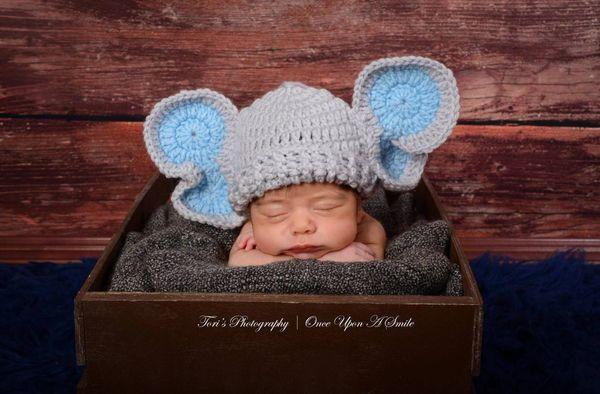 Crochet Elephant Hat Baby Hat Crochet Baby Hat Baby Boy Hat Kountry Kreations