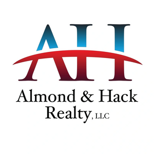 Almond and Hack Realty LLC.  Logo.