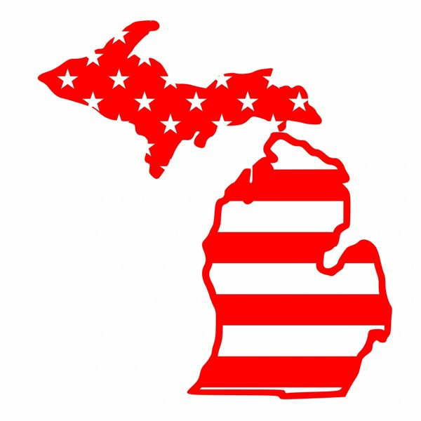 Michigan Map Stars & Stripes - American Flag Michigan Map - Michigan on michigan maps online, michigan area codes, southeastern mi map, michigan culture, michigan government, michigan trip, michigan travel brochure, michigan trivia, michigan travel destinations, michigan home, michigan-ohio map, michigan travel guide, michigan hotels, michigan vacation, michigan travel poster, michigan activities, michigan country, michigan travel information, michigan beach resorts, michigan time,