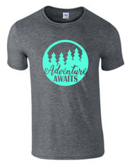Adventure Awaits T-Shirt - Adventure Shirt - MADE IN THE USA!