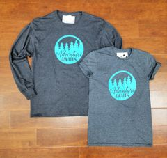 Adventure Awaits T-Shirt - Adventure Shirt - MADE IN MICHIGAN!