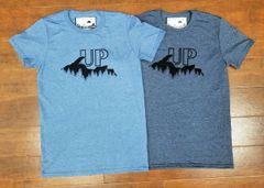 UP Night Sky T-Shirt - Michigan Upper Peninsula Shirt - UP Shirt - MADE IN MICHIGAN!