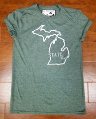 State Love T-Shirt - Michigan T-Shirt - Michigan State T-Shirt - MADE IN MICHIGAN!
