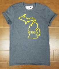 Michigan Love T-Shirt - Michigan T-Shirt - MADE IN MICHIGAN!