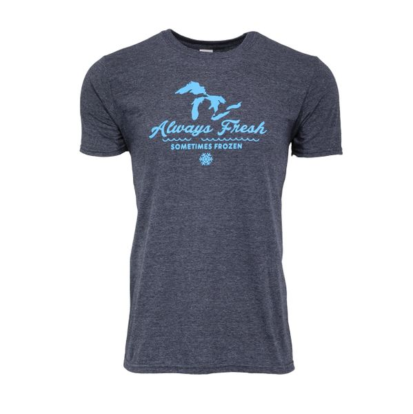 Always Fresh Sometimes Frozen T-Shirt - Michigan T-Shirt - MADE IN MICHIGAN!