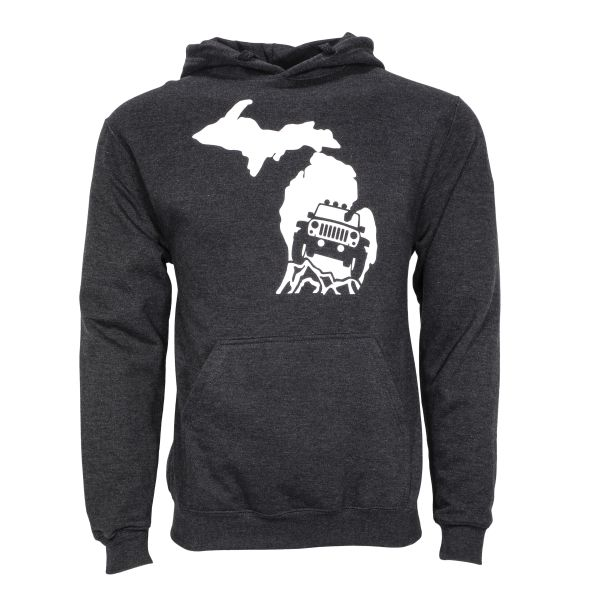 Michigan Jeep Hoodie- Michigan- Jeep- Off Road- Jeep Lover- 4x4- Hoodie