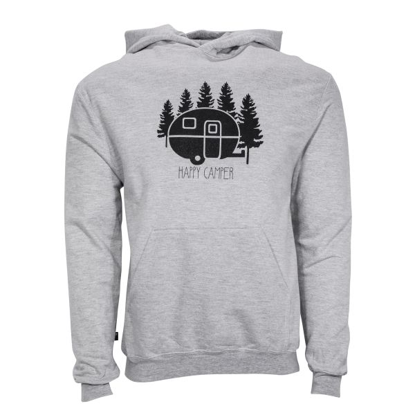 Happy Camper Hoodie- Camper- Happy Camper- Camping sweatshirt- Camping- Michigan Made- michigan outdoors