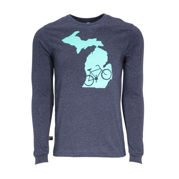Michigan Biking Long Sleeve