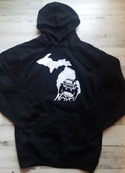 Michigan Jeep Hoodie- Michigan- Jeep- Off Road- Jeep Lover- 4x4- Hoodie- Made in Michigan