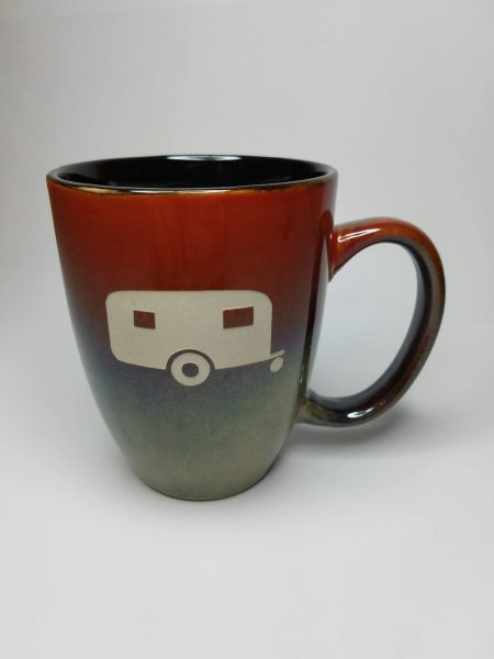 Rustic Bistro Camping Mug