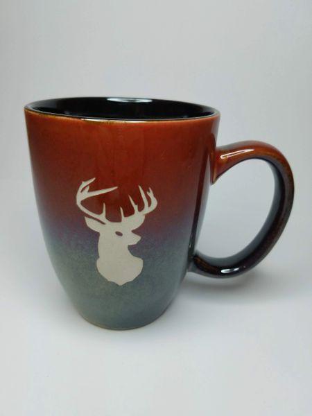 Rustic Bistro Deer Mug