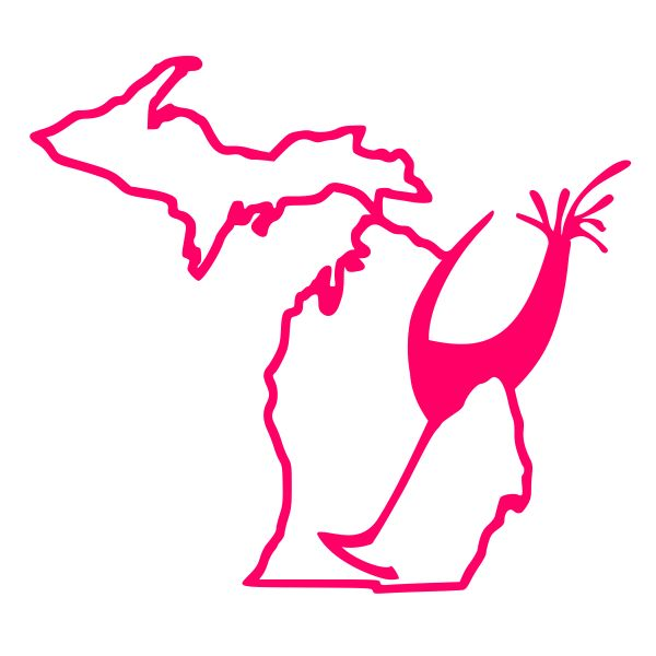 Michigan Wine Decal