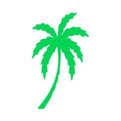 Palm Tree Vinyl Decal