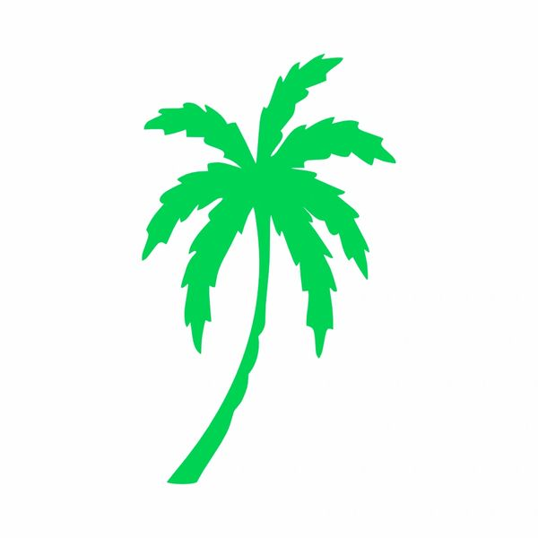 Palm Tree Vinyl Decal