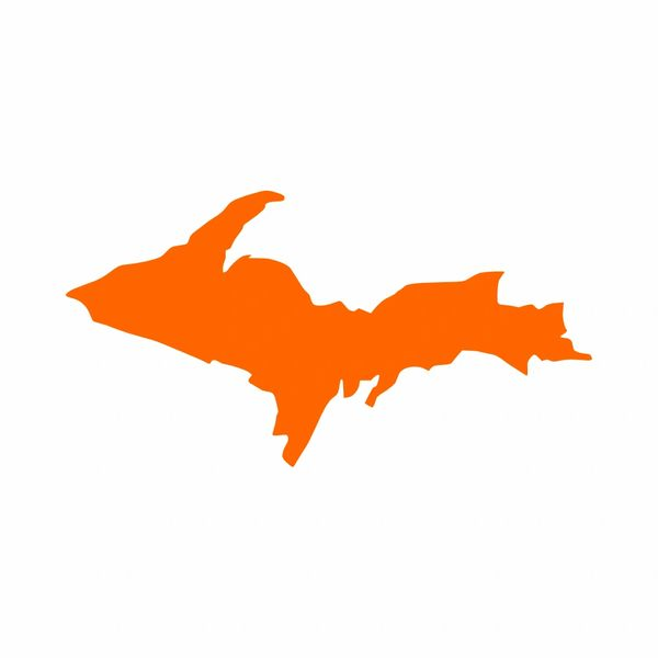 Michigan Upper Peninsula Vinyl Car Decal