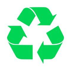 Recycle Vinyl Car Decal