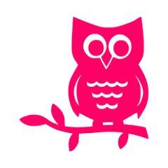 Owl Vinyl Car Decal