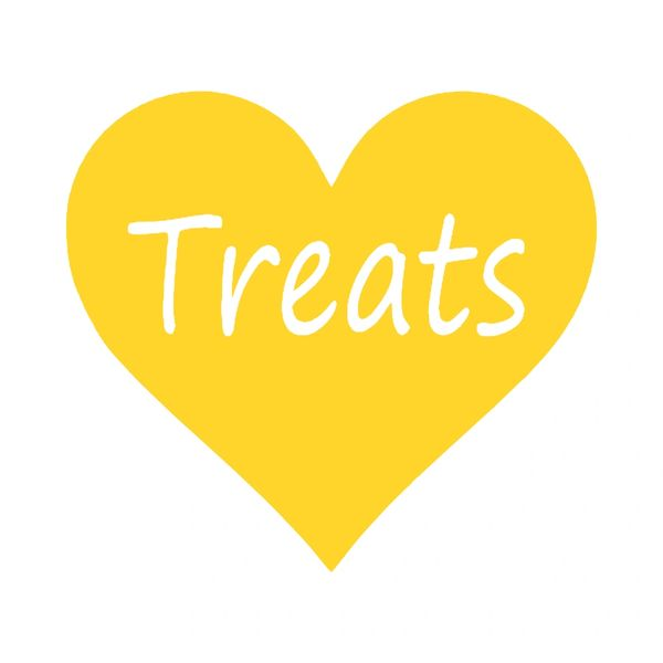 Heart Treats Vinyl Car Decal