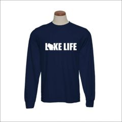 Wisconsin Lake Life Long Sleeve Shirt - Wisconsin Shirt - Wisconsin Pride - MADE IN THE USA!