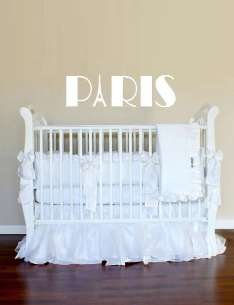 Paris Caps Wall Decal