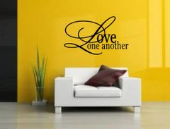 Love one another Wall Decal