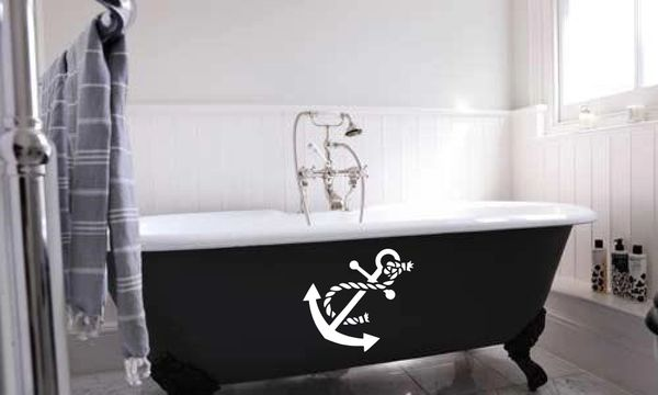 Anchor with rope Wall Decal