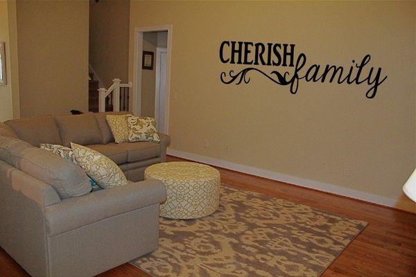 Cherish Family Wall Decal