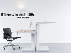 If there is no wind row Wall Decal