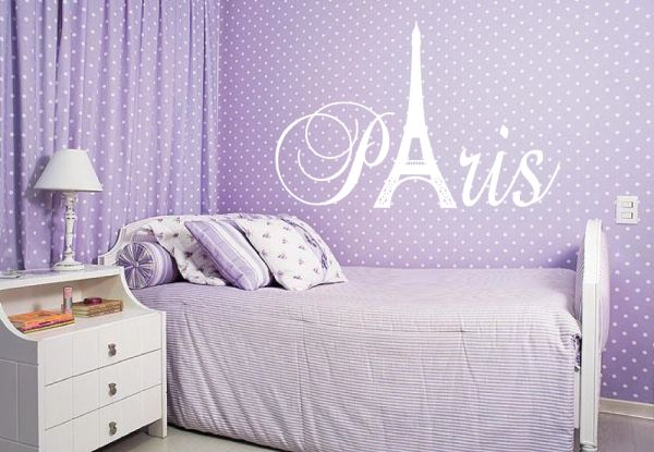 Paris Tower Wall Decal