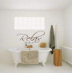 Relax Wall Decal