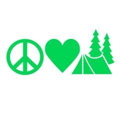 Peace Love Camping - Michigan Camping - Camp Michigan