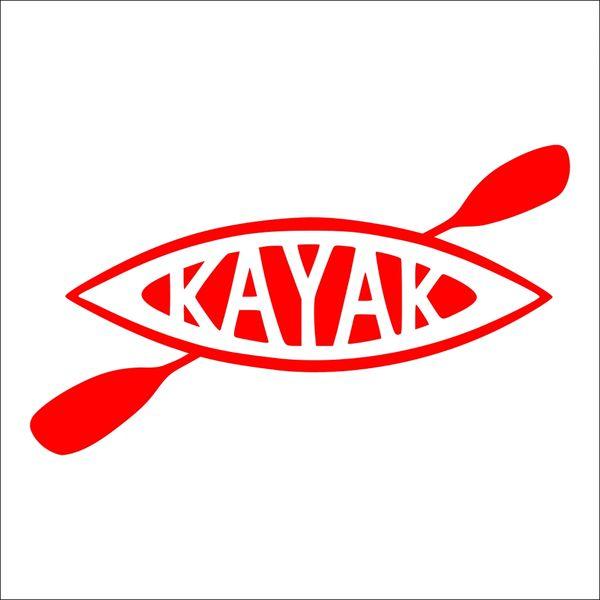 Kayak Vinyl Car Decal - Kayak Decal - Travel Michigan - Kayak Michigan - Kayak