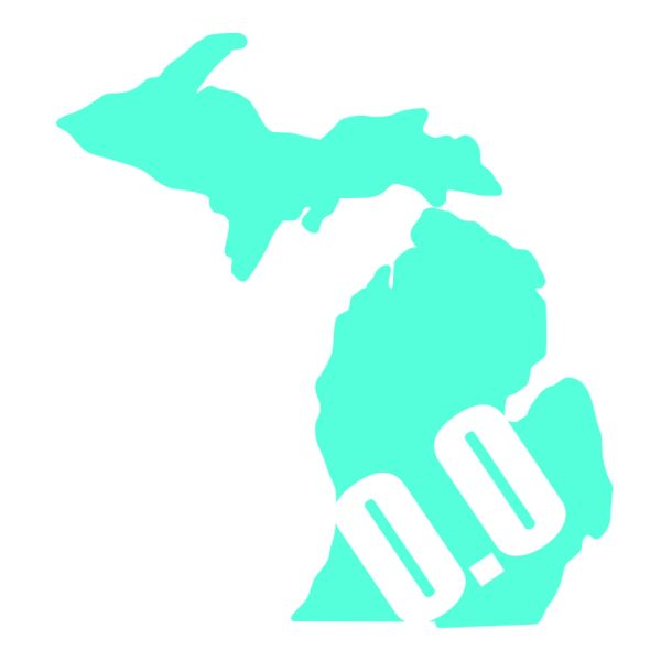 Michigan Run - MiRun - 0.0 Run - Running Decal - I Don't Run