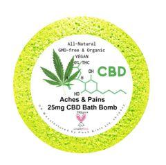 Aches & Pains Aromatherapy Bath Bomb 25mg