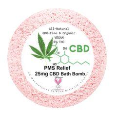 PMS Relief Aromatherapy Bath Bomb 25mg