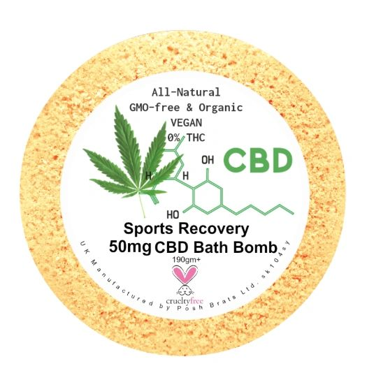 Sports Recovery Aromatherapy Bath Bomb 50mg