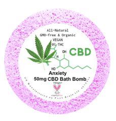 Anxiety Aromatherapy Bath Bomb 50mg