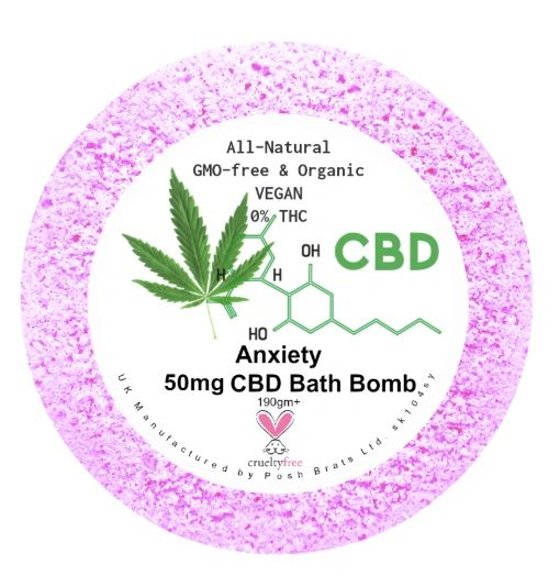 Anxiety Aromatherapy Bath Bomb 50mg