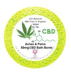 Aches & Pains Aromatherapy Bath Bomb 50mg